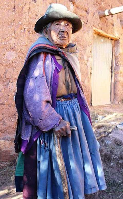 116 летняя перуанка поделилась