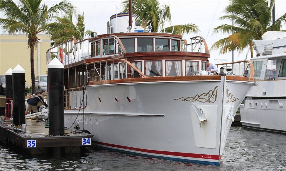 Яхта президента Джона Кеннеди
