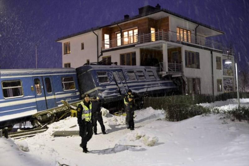 20-летняя девушка угнала поезд в Швеции