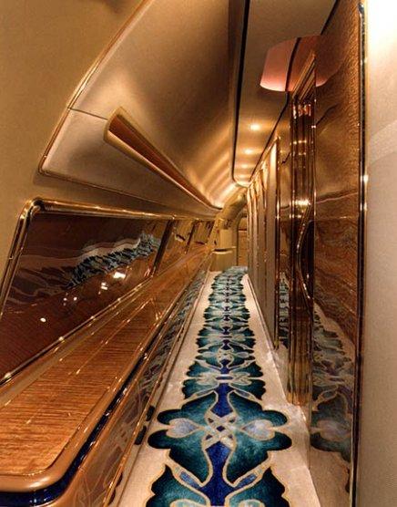 Самолет султана Брунея