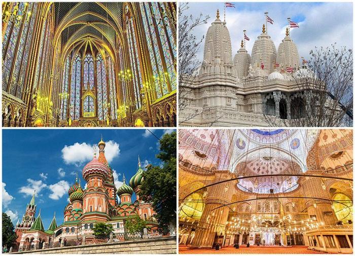 Восхитительные места поклонения по всему миру