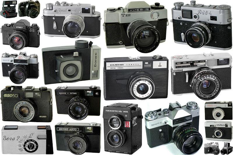 Фотоаппараты СССР