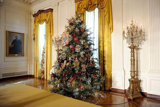 Рождественское убранство Белого дома