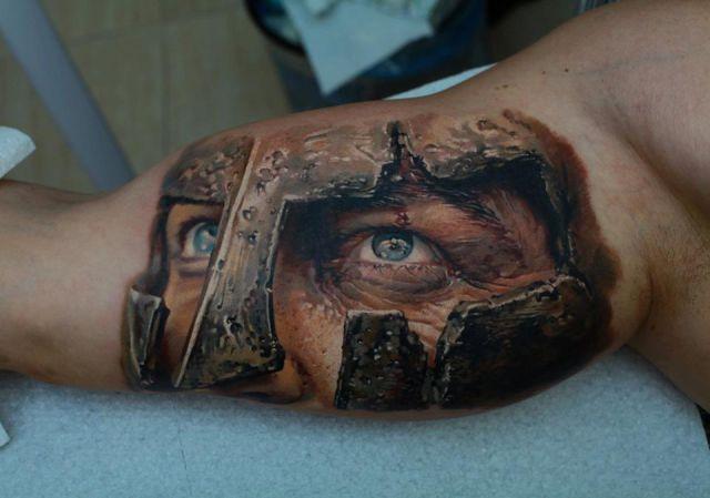 Очень реалистичные татуировки