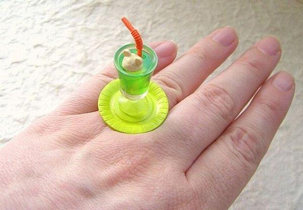 Съедобный перстень