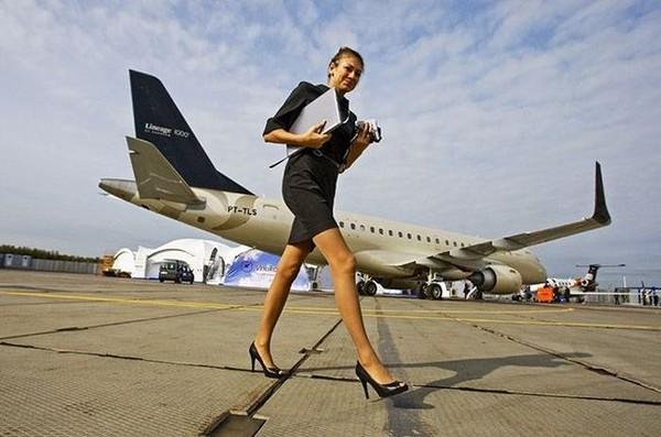 Дорогостоящий интерьер частных самолетов