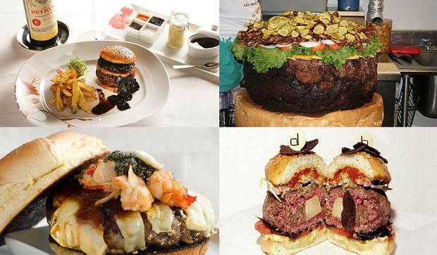 10 Самых дорогих бургеров в мире
