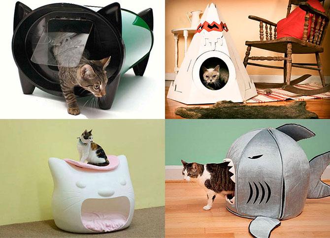 Все для кошек котов и котят своими руками 2