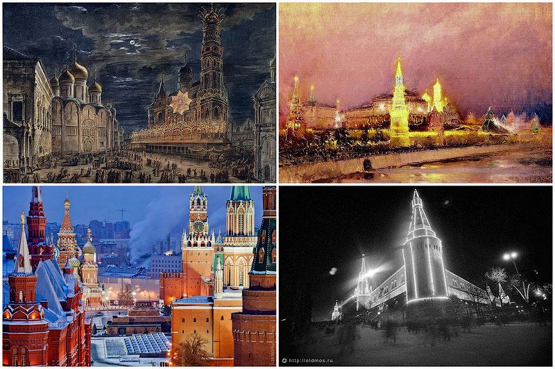 Подсветка Кремля