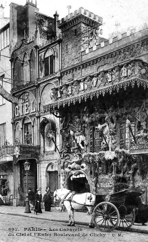 Внутри адского ночного клуба Парижа 1890 года