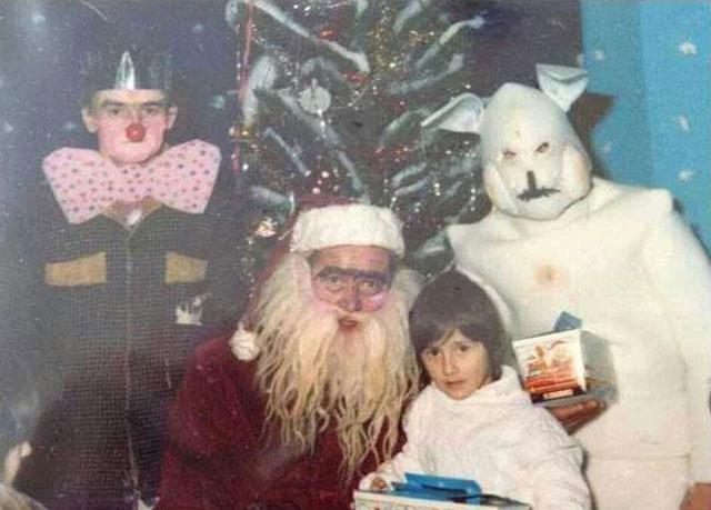 Этот страшный и ужасный Санта