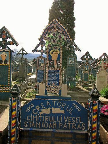 Кладбище, Румыния, Сэпынца