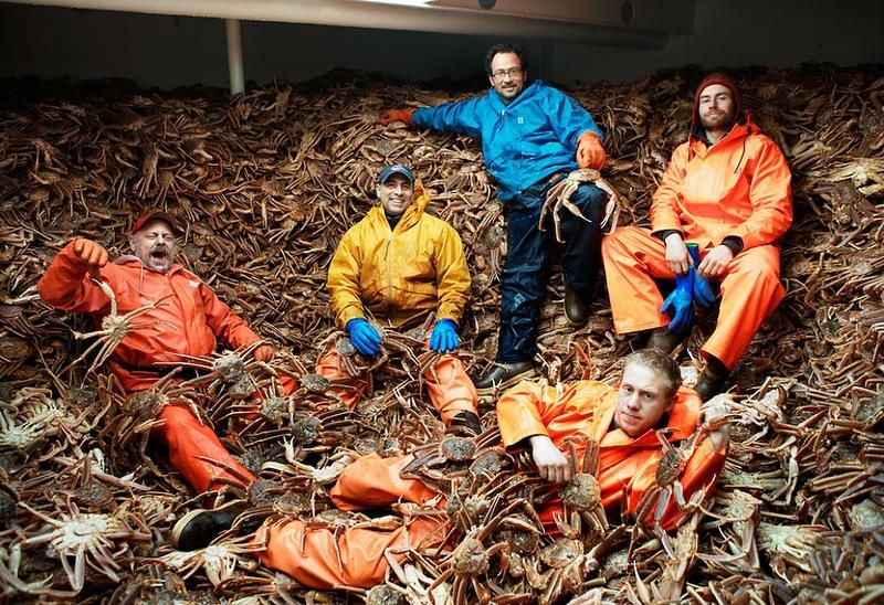 Добыча краба, трески и палтуса в Беринговом море
