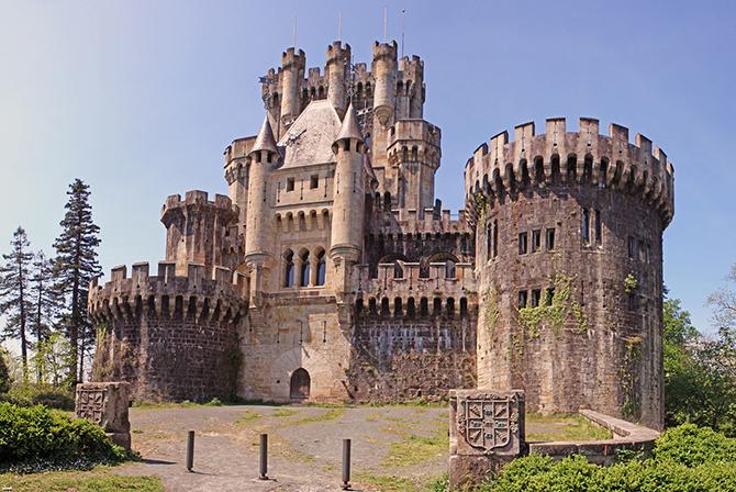 Самые красивые замки и дворцы испании