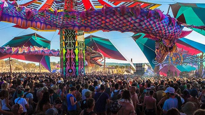 Самые эпичные танцевальные фестивали со всего мира