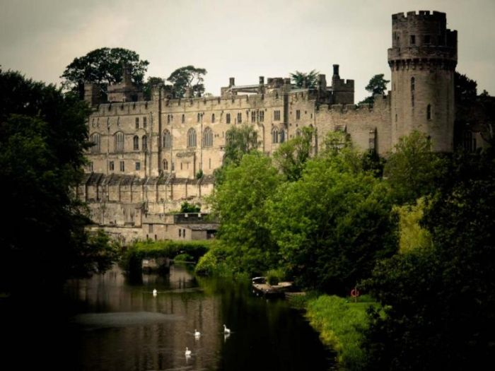 Старинные замки с привидениями