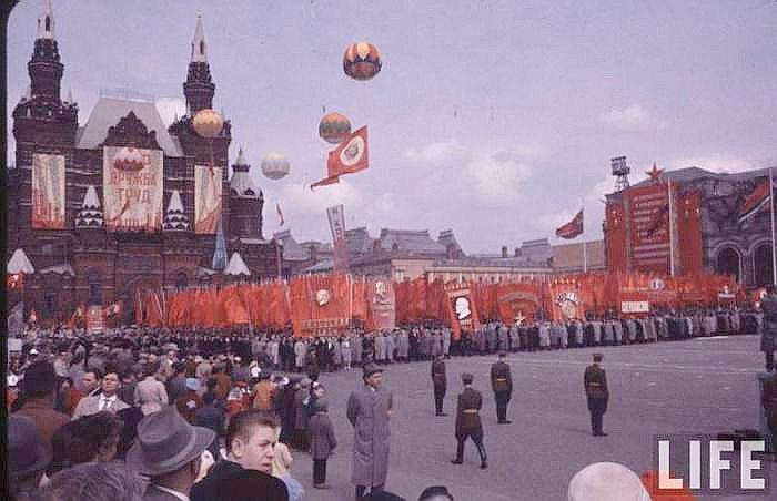 Парад 1 Мая в СССР