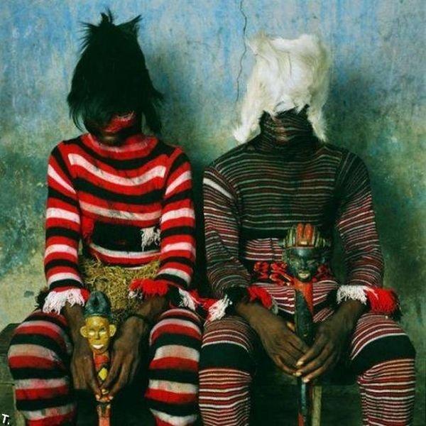 Ритуальные костюмы Западной Африки