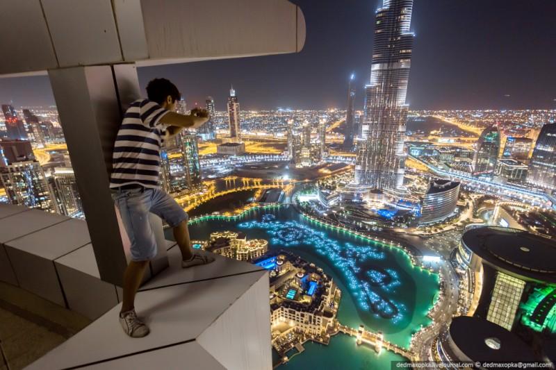 Российские руферы на крышах Дубая