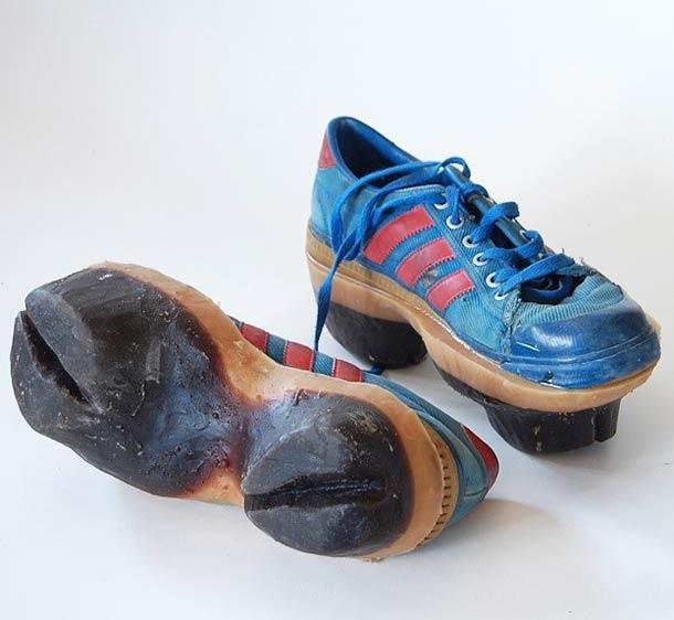 Обувь, оставляющая после себя следы животных